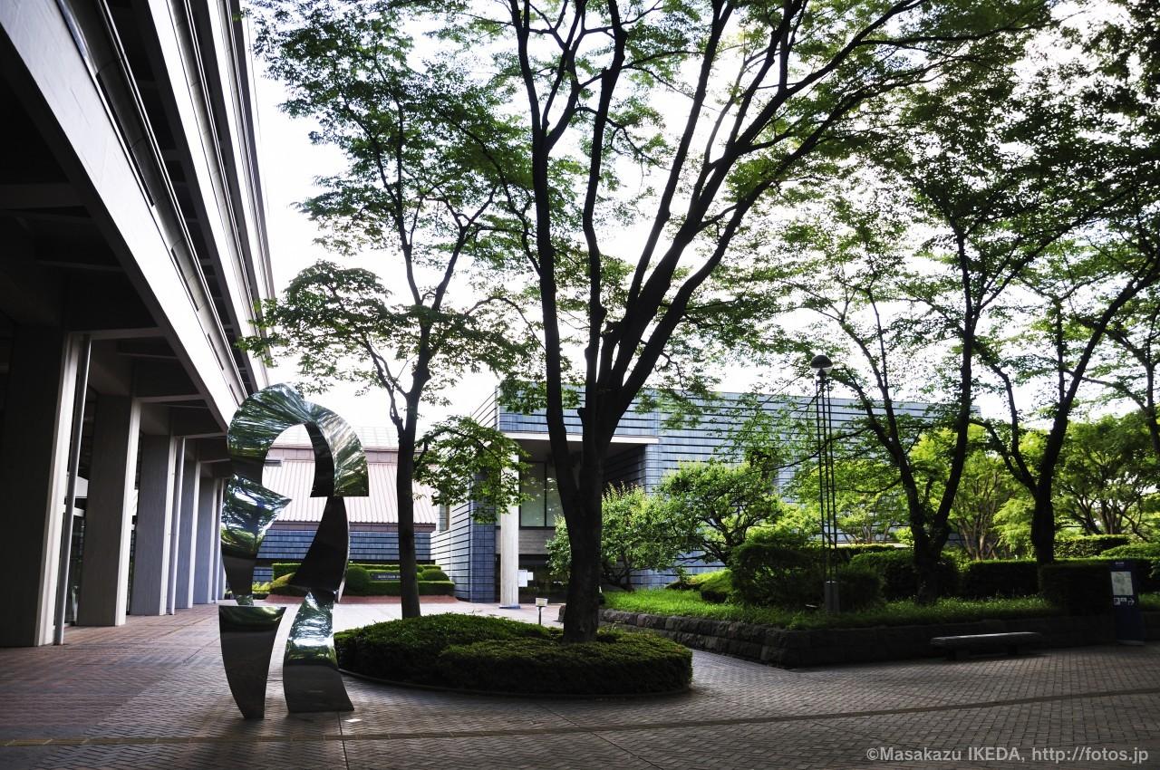 国立国会図書館の庭