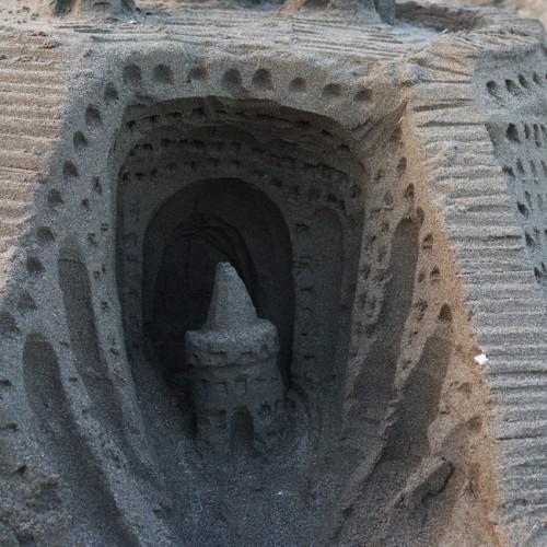 砂のお城内部