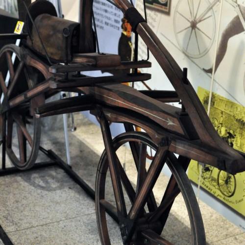 過去の自転車