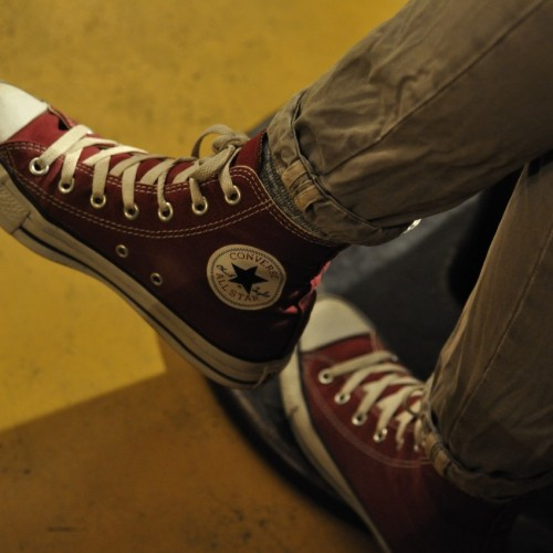 CONVERSE ALL STAR DARK RED