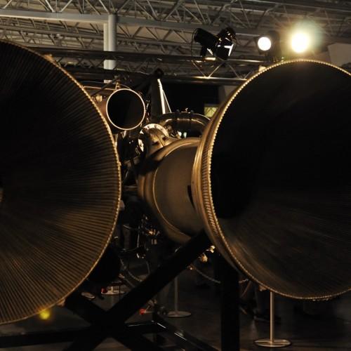 ロケットエンジン噴射部