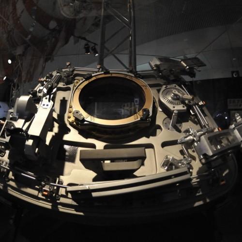 アポロ17号指令船ハッチ