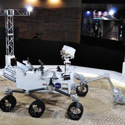 「火星探索車」キュリオシティ