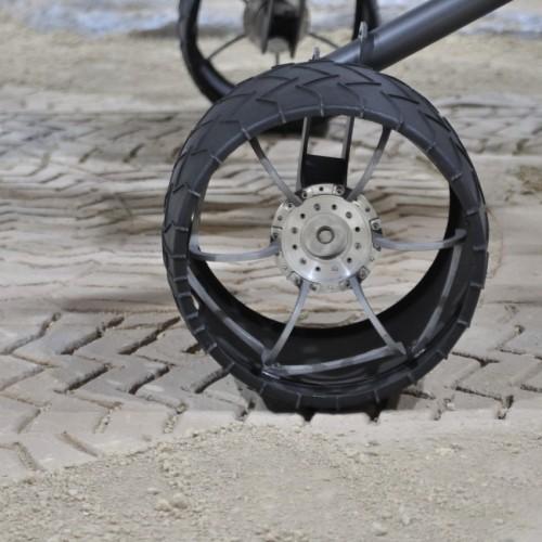 「火星探索車」キュリオシティの車輪