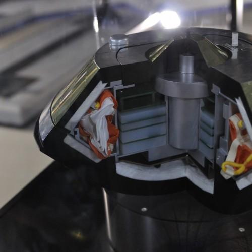 宇宙博2014展示物(はやぶさ)