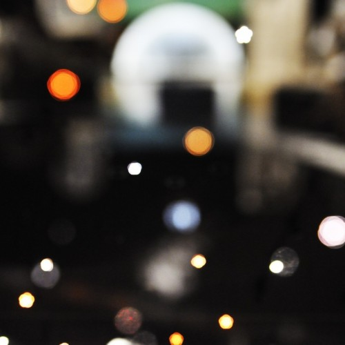 LEDの星たちがキラキラ