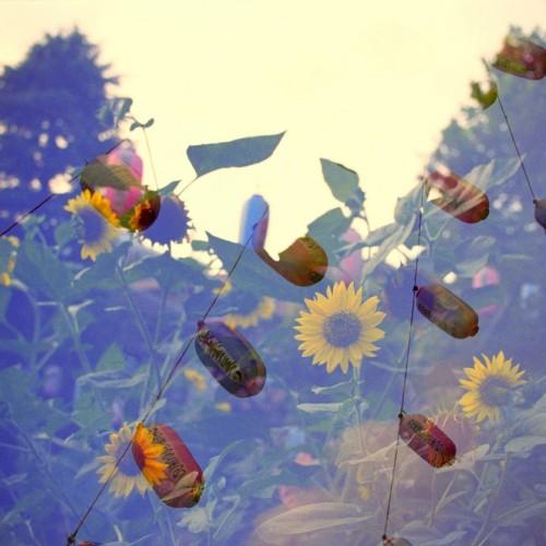 多重露光作品「夏の思い出」