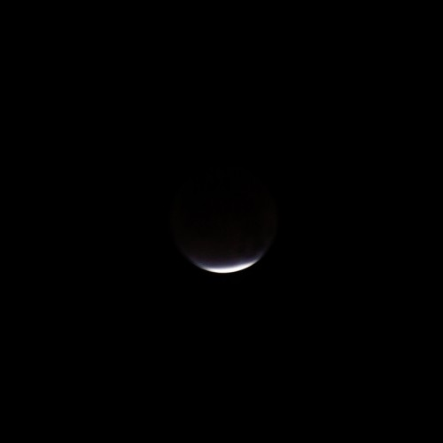 皆既月食の写真