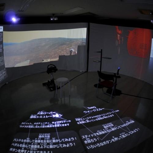 火星ランドローバーシュミレーション