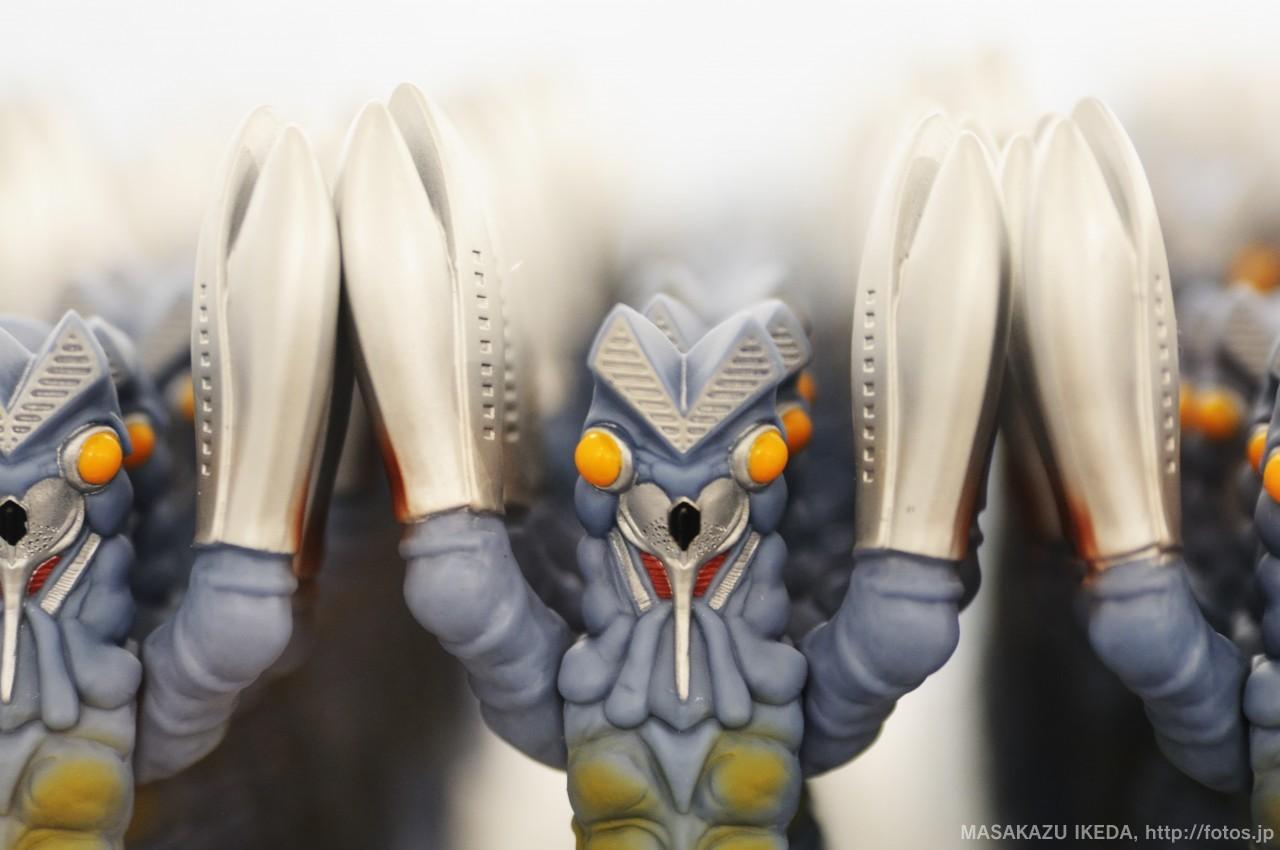 企画展TenQ×ウルトラマン バルタン星人