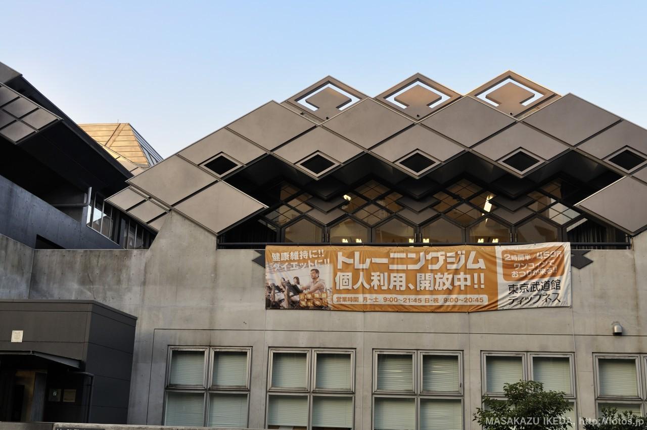 東京武道館ティップネス入り口
