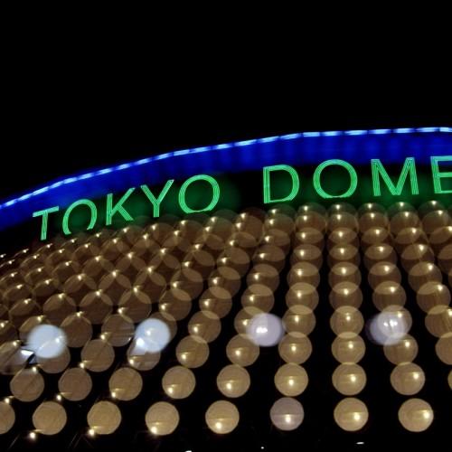 TOKYO DOME(東京ドーム) 多重露光写真