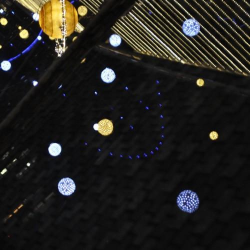 東京ドームシティ イルミネーション 宇宙