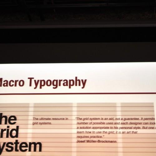 Macro Typography