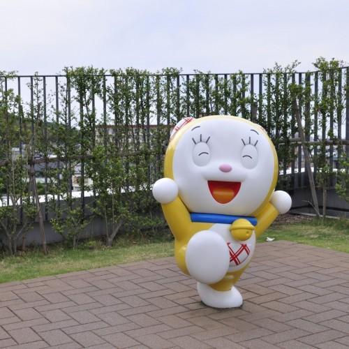 川崎市 藤子・F・不二雄ミュージアム 屋上ドラミちゃん