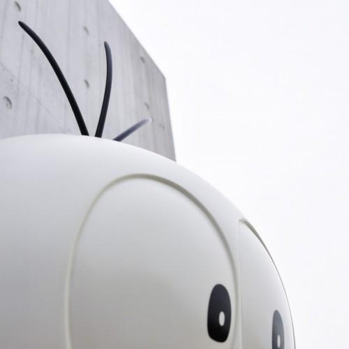屋上おばけのQ太郎記念写真コーナー