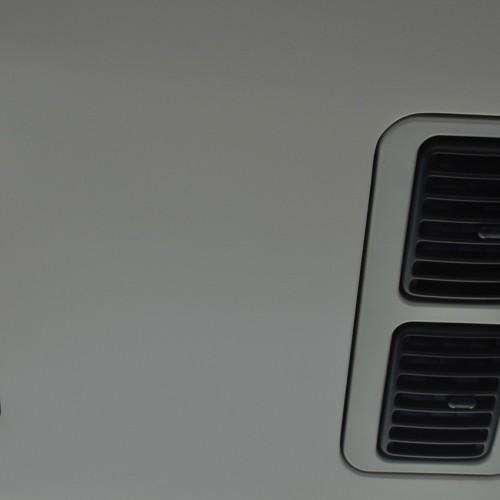 JR常磐線特急ときわ車内 空席表示ランプ
