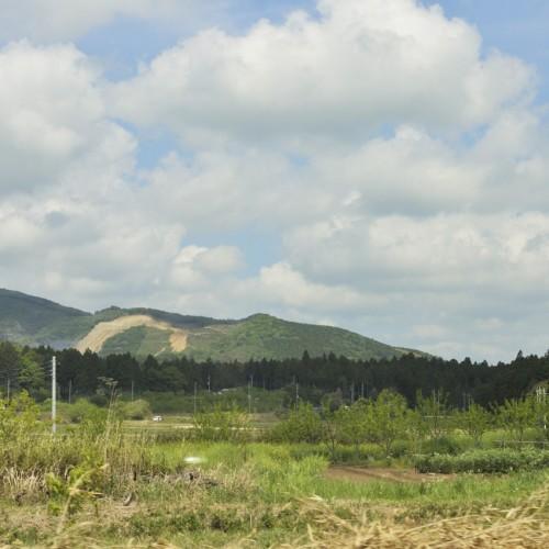 JR常磐線特急ときわ車窓からの景色