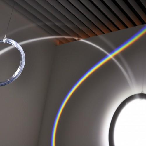 オラファー・エリアソン《丸い虹》