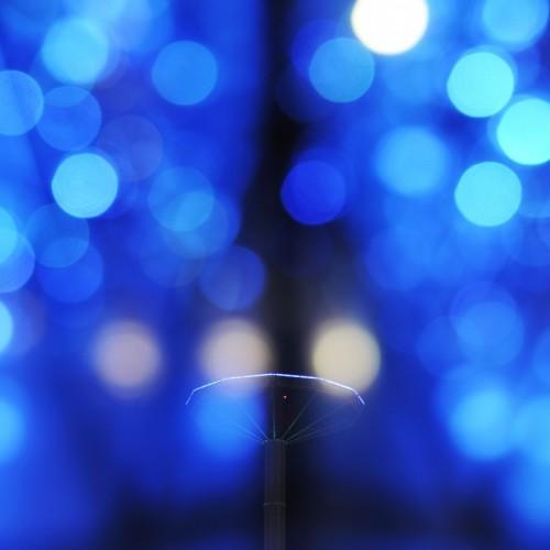 東京ドームシティのウインターイルミネーション2015 多重露光