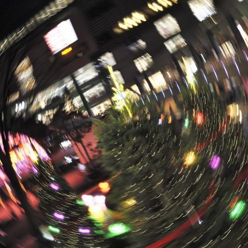 東京ドームシティのウインターイルミネーション2015 回転