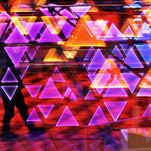 東京ドームシティのウインターイルミネーション2015 光のトンネル