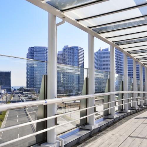 横浜駅からパシフィコ横浜まで歩いてみる。