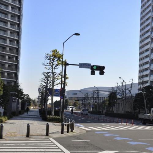 パシフィコ横浜への通路
