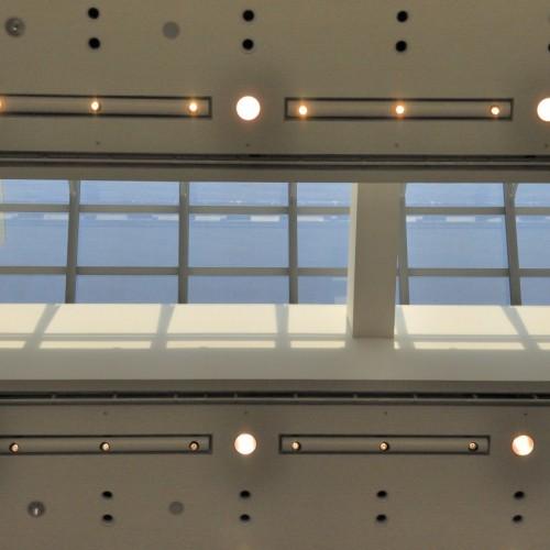 東京都現代美術館 天井