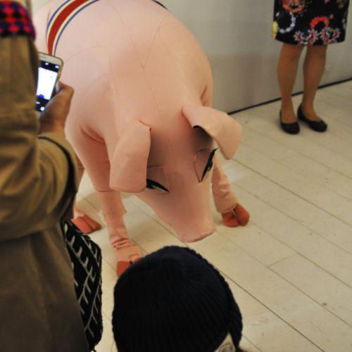 サエボーグ展「Pigpen」