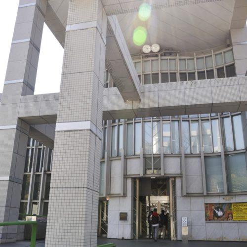 名古屋市美術館入り口