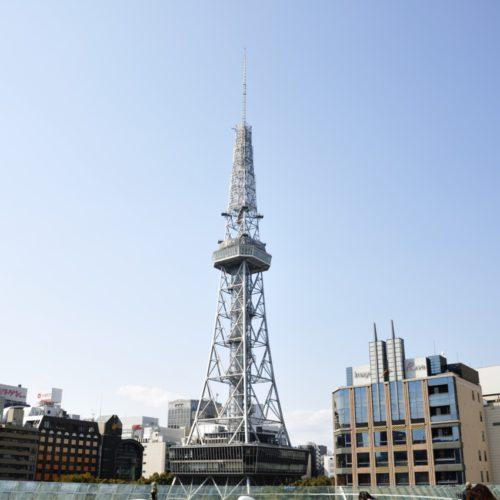 オアシス21から見た名古屋テレビ塔