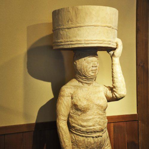 伊勢志摩 海女の彫刻作品