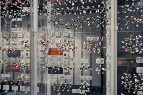 名古屋市科学館:分子模型の展示
