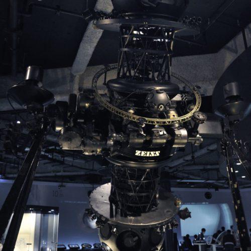 名古屋市科学館:天文館:宇宙のすがた:ZEISSのプラネタリム投影機