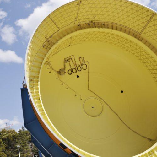 名古屋市科学館:屋外のH-IIBロケット